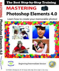 Adobe Photoshop Elements 4.0 - Training Tutorial Software